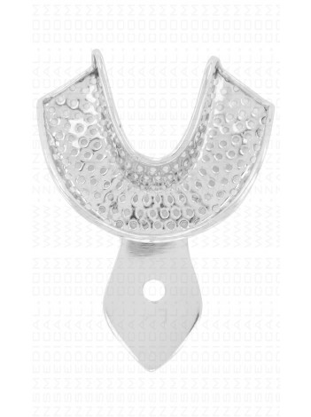 Rim lock perforated lower impression tray small size #4