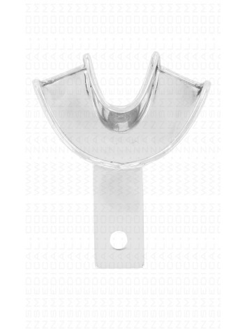 Impression tray front lower solid