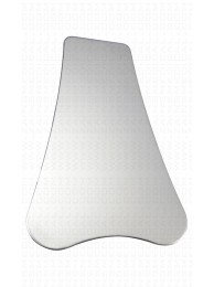 Stainless steel reflector dental mirrors