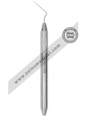 Root Canal Spreader Hollow Handle Single End #D11S Thin 0.25 23mm