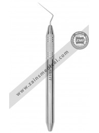 Root Canal Spreader Hollow Handle Single End # D11T Extra Thin 0.23 22mm