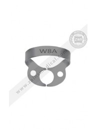 Clamp #W8A Molar Wingless, Upper And Lower Molar Root