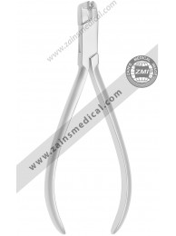 Distal end flush cutter safety hold