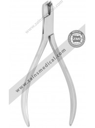 Mini flush cut distal end cutter with spring hold